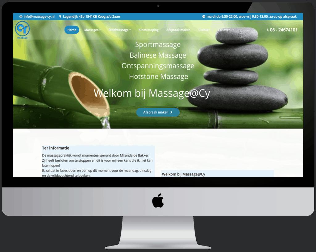 Goede vindbare bedrijfswebsite