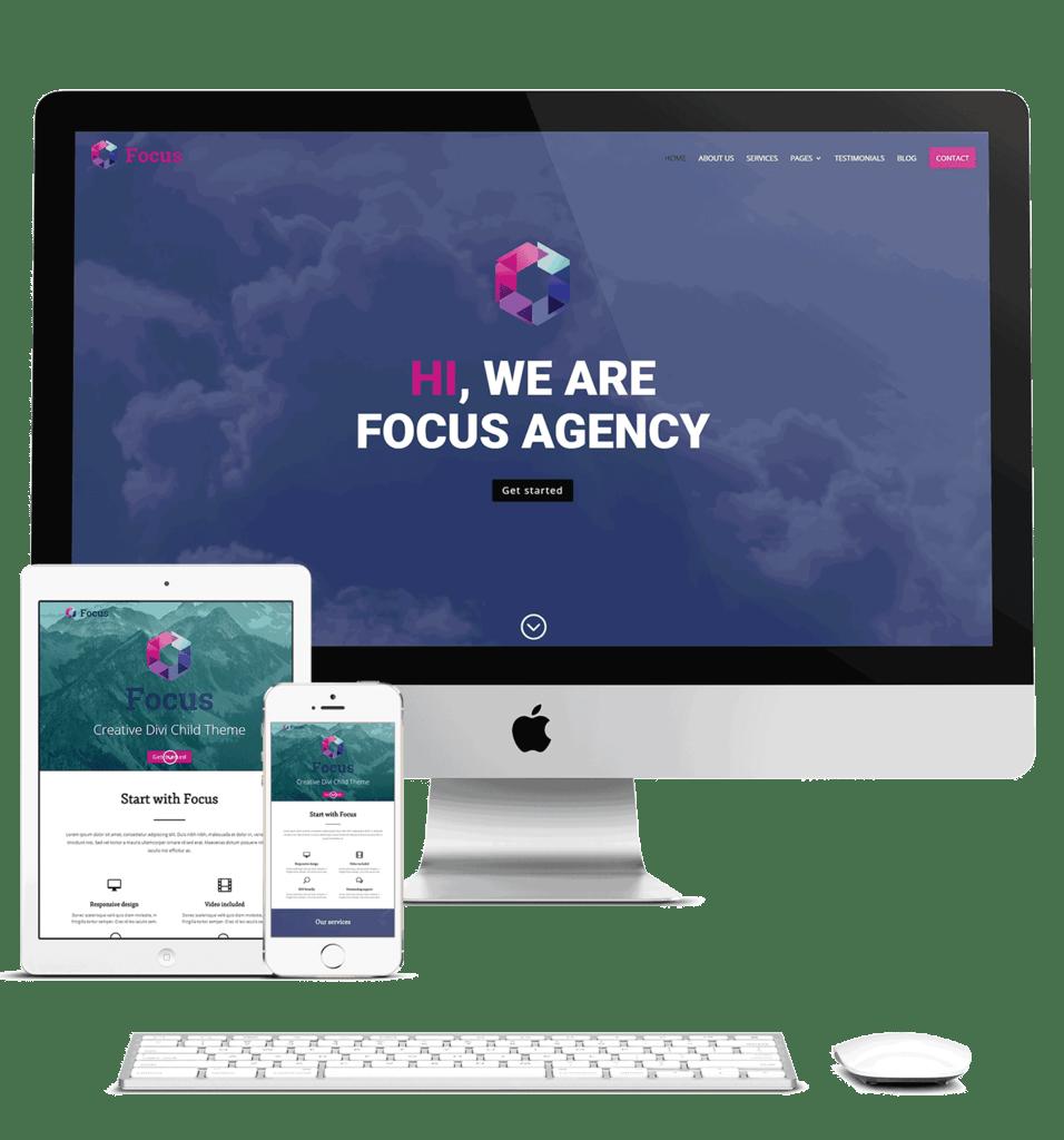 Zakelijke website in CMS